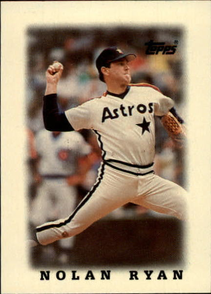 1988 Topps Mini Leaders #50 Nolan Ryan