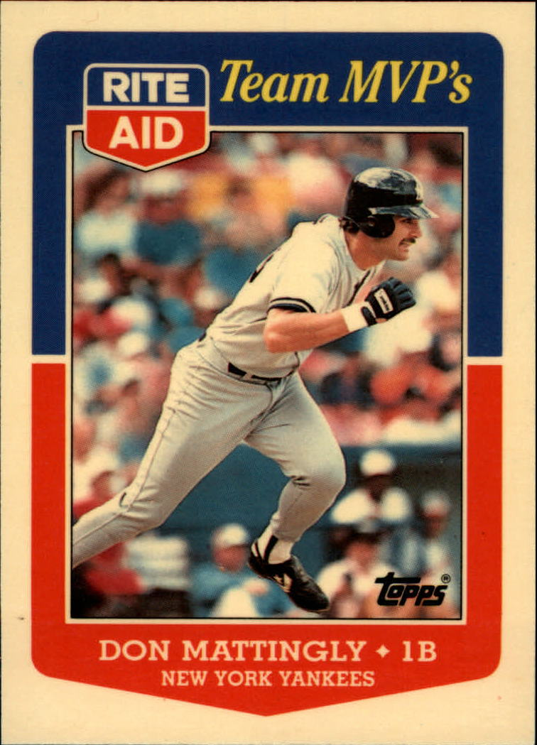 1988 Topps Rite-Aid Team MVP's #22 Don Mattingly