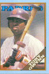 1988 Topps Wax Box Cards #F Tony Gwynn