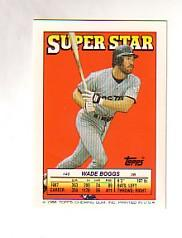 1988 Topps/O-Pee-Chee Sticker Backs #40 Wade Boggs