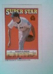 1988 Topps/O-Pee-Chee Sticker Backs #58 Roger Clemens