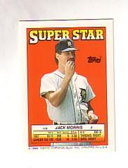 1988 Topps/O-Pee-Chee Sticker Backs #59 Jack Morris