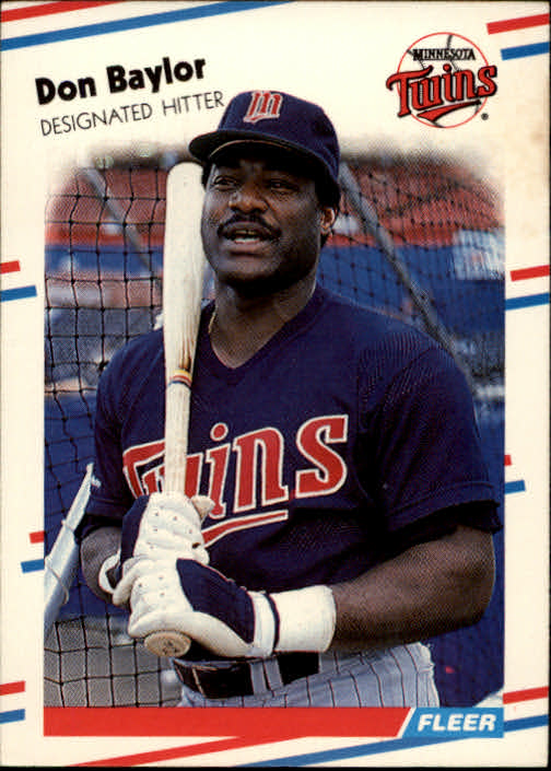 1988 Fleer #2 Don Baylor