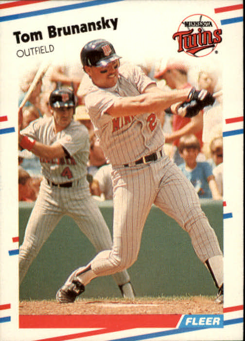 1988 Fleer #5 Tom Brunansky