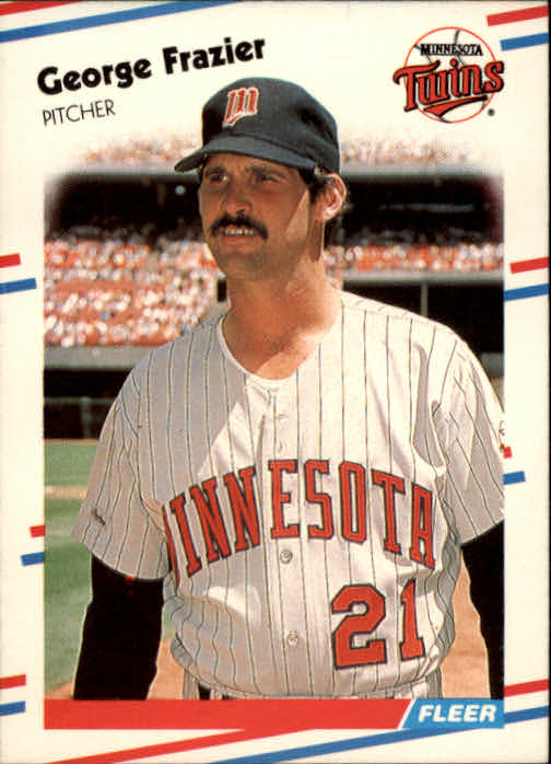 1988 Fleer #9 George Frazier
