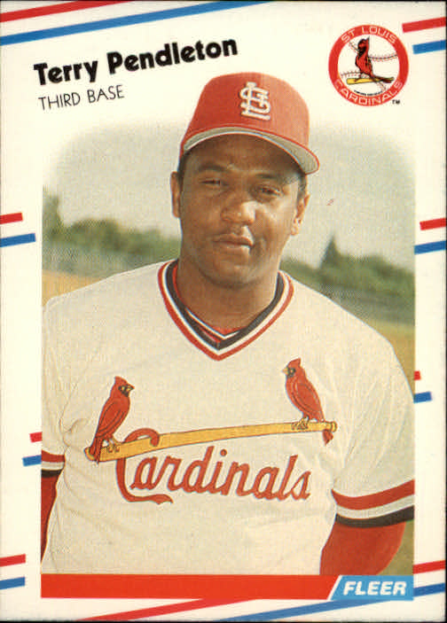 1988 Fleer #46 Terry Pendleton