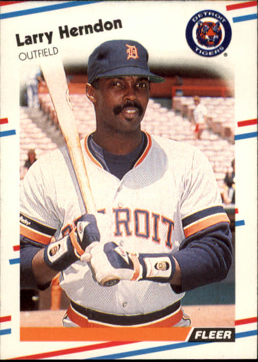 1988 Fleer #59 Larry Herndon