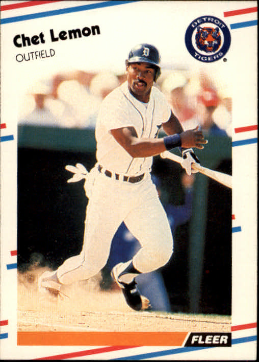 1988 Fleer #61 Chet Lemon