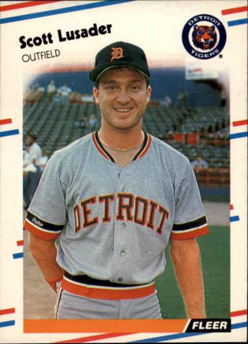 1988 Fleer #62 Scott Lusader