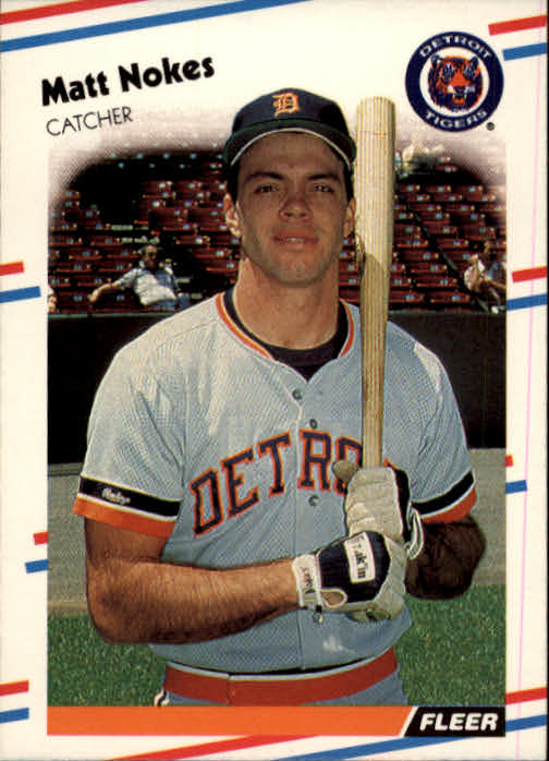 1988 Fleer #66 Matt Nokes RC*