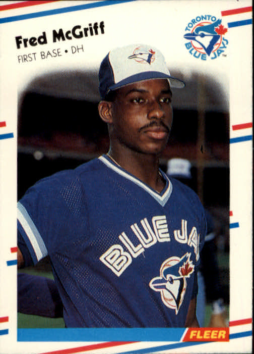 1988 Fleer #118 Fred McGriff