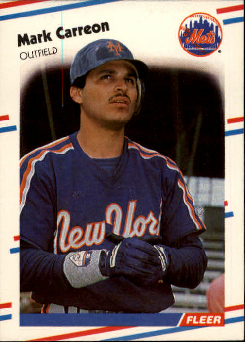 1988 Fleer #129 Mark Carreon RC
