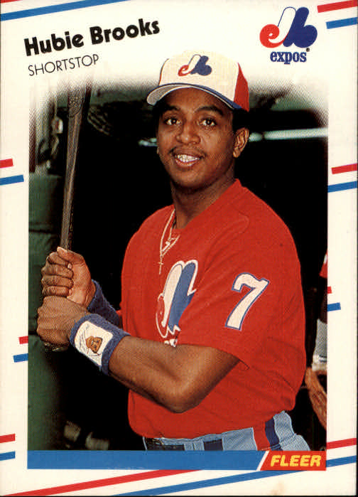 1988 Fleer #179 Hubie Brooks