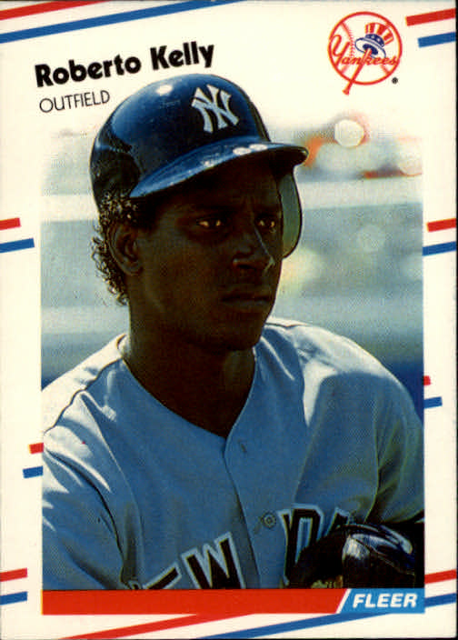 1988 Fleer #212 Roberto Kelly RC