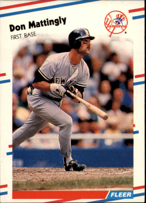 1988 Fleer #214 Don Mattingly