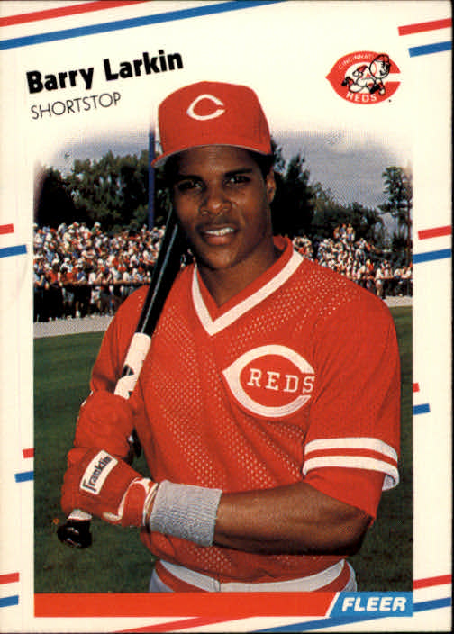 1988 Fleer #239 Barry Larkin