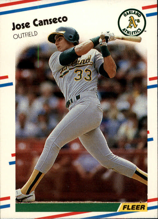 1988 Fleer #276 Jose Canseco