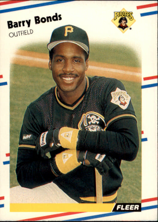 1988 Fleer #322 Barry Bonds front image