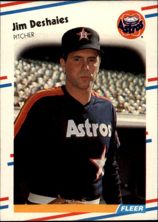 1988 Fleer #446 Jim Deshaies