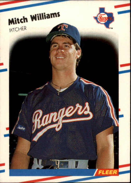 1988 Fleer #482 Mitch Williams