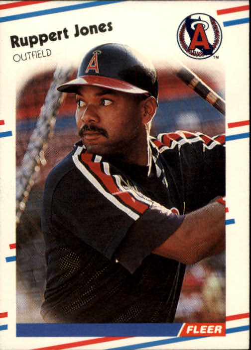 1988 Fleer #492 Ruppert Jones