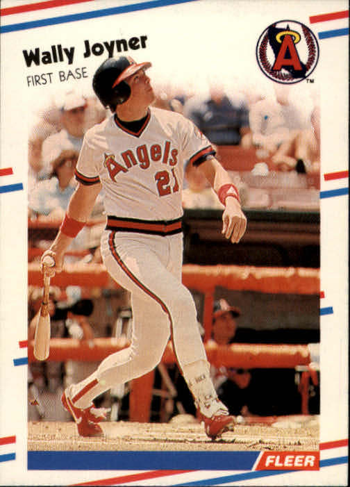 1988 Fleer #493 Wally Joyner