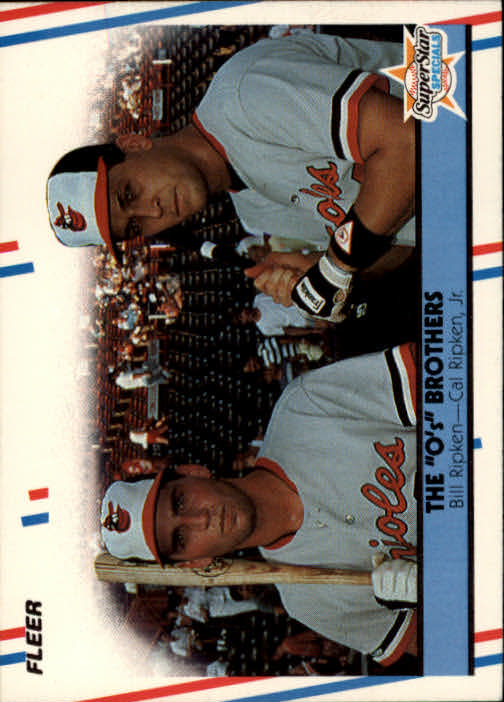 1988 Fleer #640 Ripken Brothers