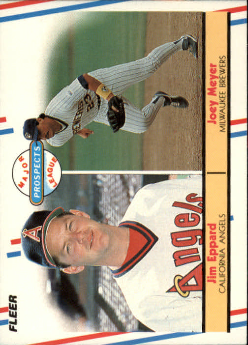 1988 Fleer #645 J.Meyer/J.Eppard RC