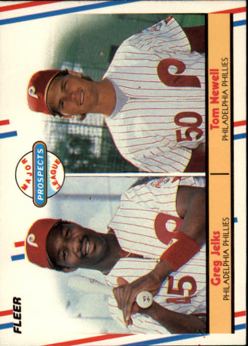 1988 Fleer #648 T.Newell/G.Jelks RC