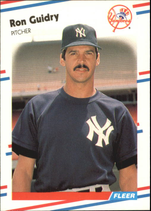 1988 Fleer Glossy #207 Ron Guidry