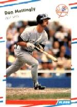 1988 Fleer Glossy #214 Don Mattingly