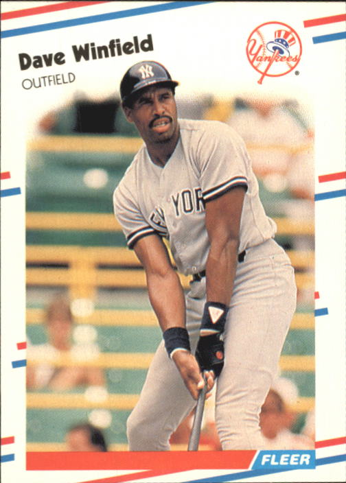 1988 Fleer Glossy #226 Dave Winfield