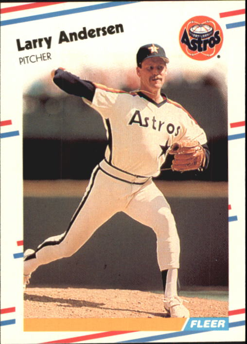 1988 Fleer Glossy #438 Larry Andersen