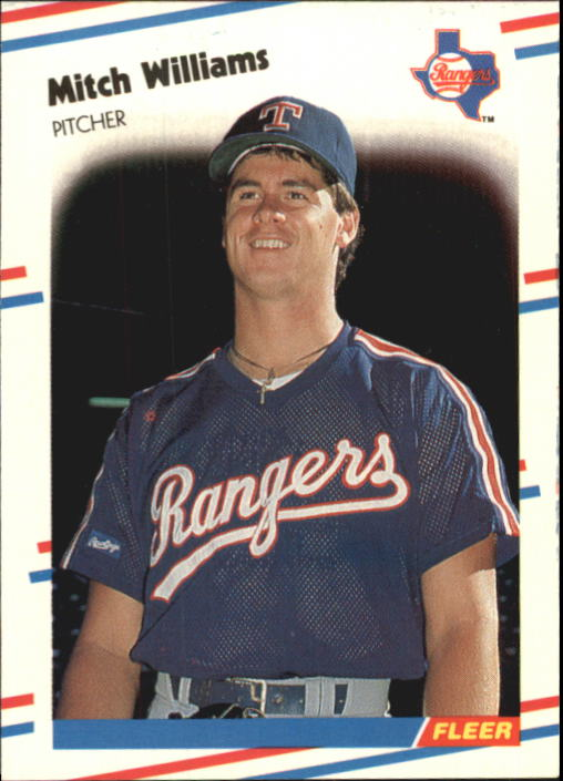 1988 Fleer Glossy #482 Mitch Williams