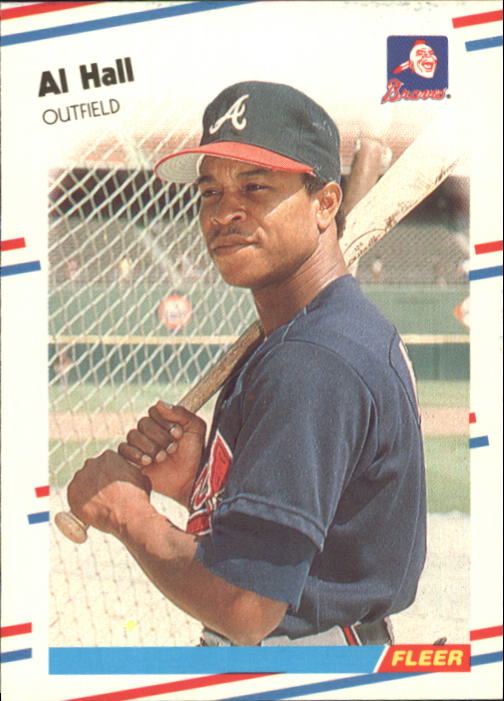 1988 Fleer Glossy #541 Albert Hall