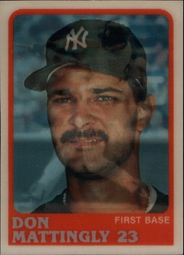 1988 Sportflics #1 Don Mattingly