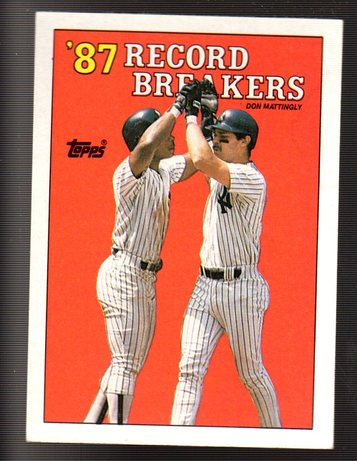 1988 Topps #2 Don Mattingly RB