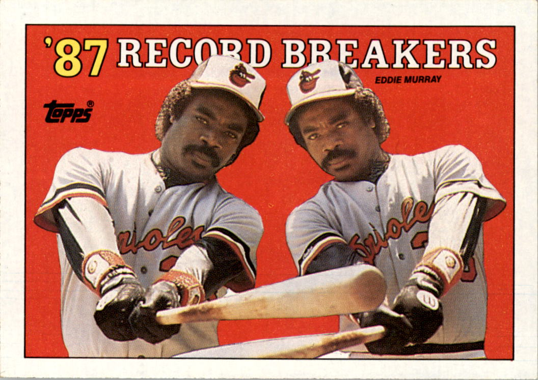 1988 Topps #4 Eddie Murray RB