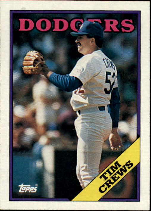 1988 Topps #57 Tim Crews RC front image