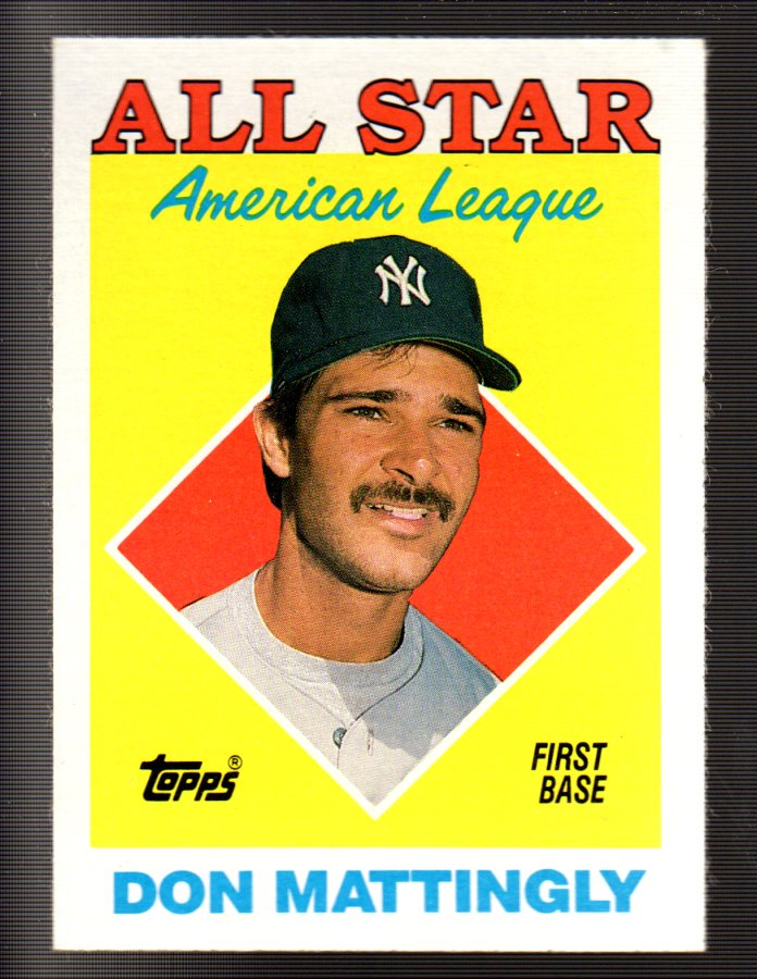 1988 Topps #386 Don Mattingly AS
