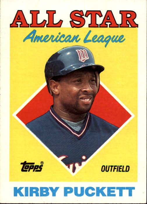 1988 Topps #391 Kirby Puckett AS
