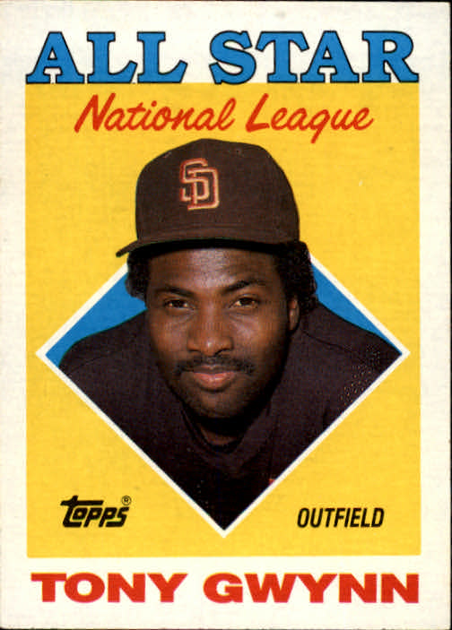 1988 Topps #402 Tony Gwynn AS