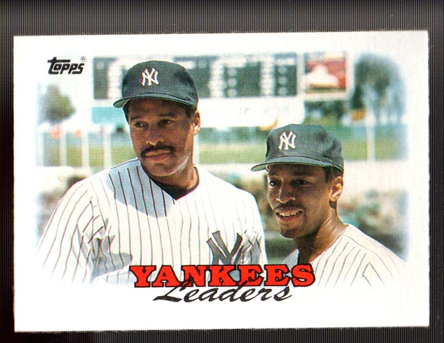 1988 Topps #459 Dave Winfield/Willie Randolph TL