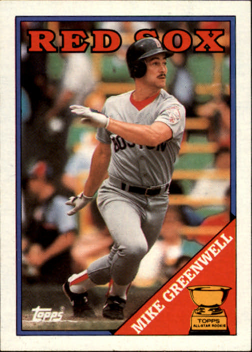 1988 Topps #493 Mike Greenwell