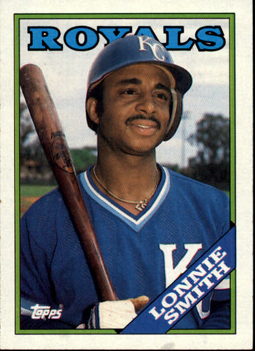 1988 Topps #777 Lonnie Smith