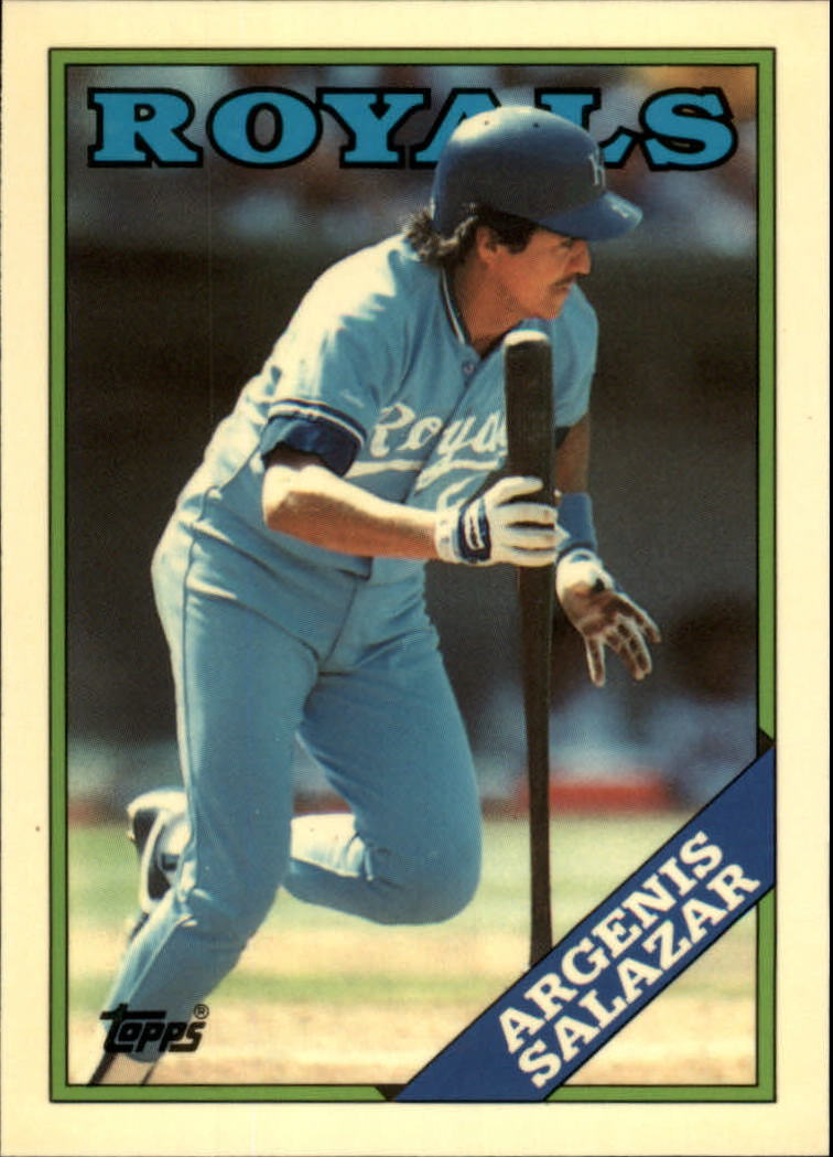 1988 Topps Tiffany #29 Angel Salazar