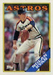 1988 Topps Tiffany #250 Nolan Ryan