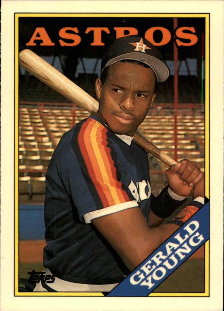1988 Topps Tiffany #368 Gerald Young
