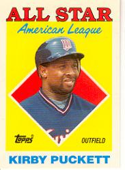 1988 Topps Tiffany #391 Kirby Puckett AS