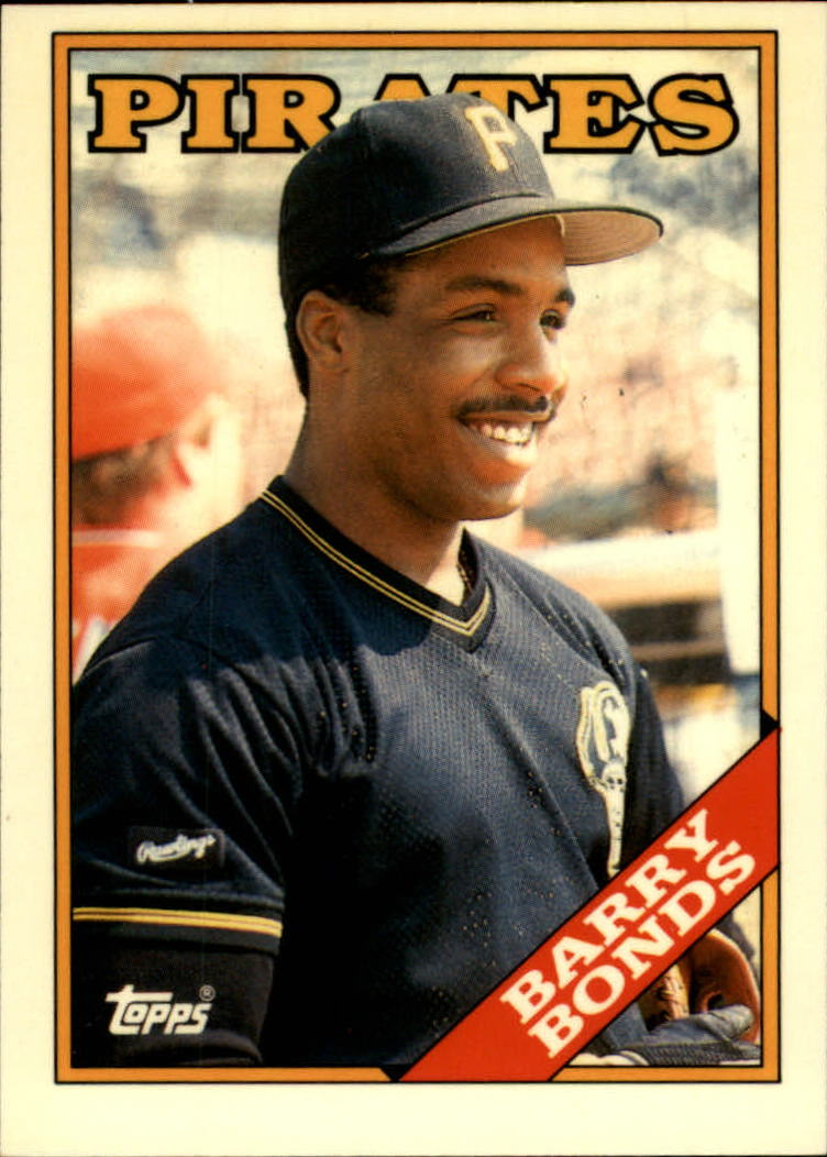 1988 Topps Tiffany #450 Barry Bonds